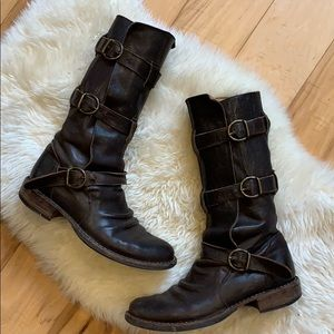 Fiorentini + Baker boot with three straps